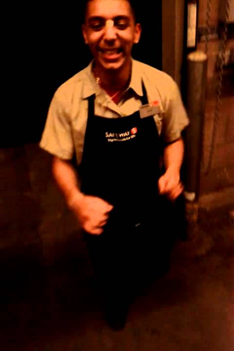 Alex the courtesy clerk Another day at Safeway - YouTube
