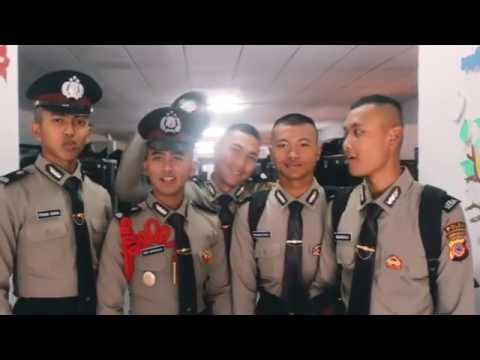 Pendidikan Polisi di SPN Cisarua - euphoria siswa sebelum melaksanakan ibl