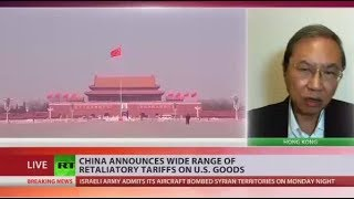 China announces huge retaliatory tariffs on products from US