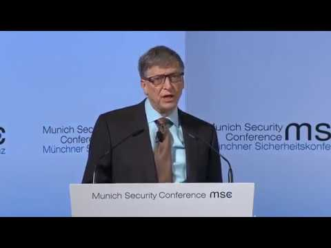 BREAKING Bill Gates warns of devastation to world leaders on Bio terrorism February 18 2017