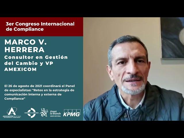 Marco V. Herrera te invita al 3er Congreso AMEXICOM
