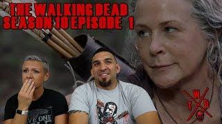 The Walking Dead Season 10 Episode 1 'Lines We Cross' Premiere REACTION!!