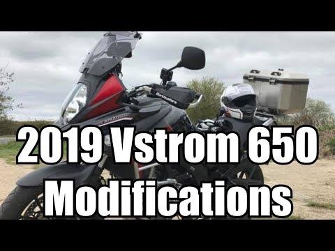 2018 Suzuki V-Strom 650 - Mods