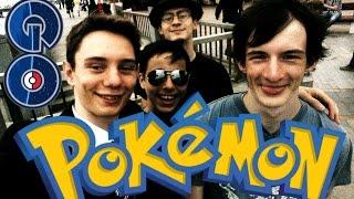 pokemon Go - Обзор от ВОЛКА! ;D На русском видео Gameplay Владивосток Покемоны в России! ;D HD 60FPS