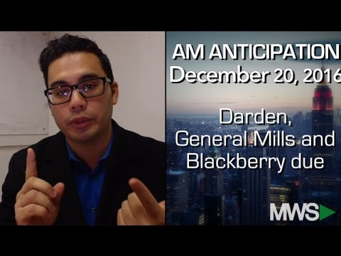 Modern Wall Street AM Anticipation: December 20, 2016