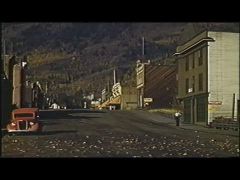 Film of a CPR Steam Train to Kootenay Lake and then the SS Moyie on the lake circa 1939