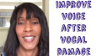 IMPROVE YOUR SINGING AFTER VOCAL DAMAGE | 5 TIPS