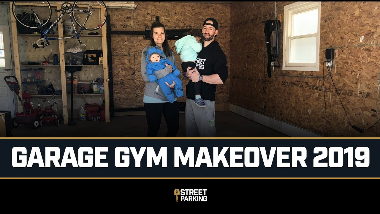 Street parking rep fitness garage gym makeover coach