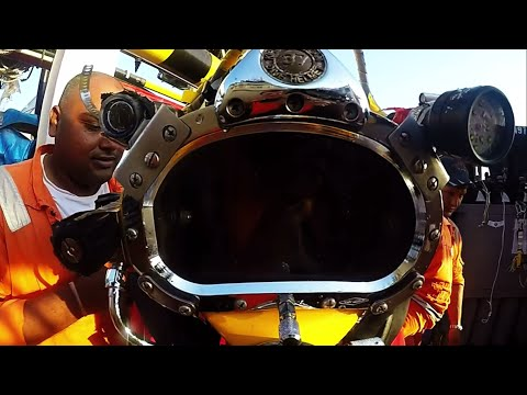 Offshore Commercial Diver Life - Come With Me Now, Kongos -