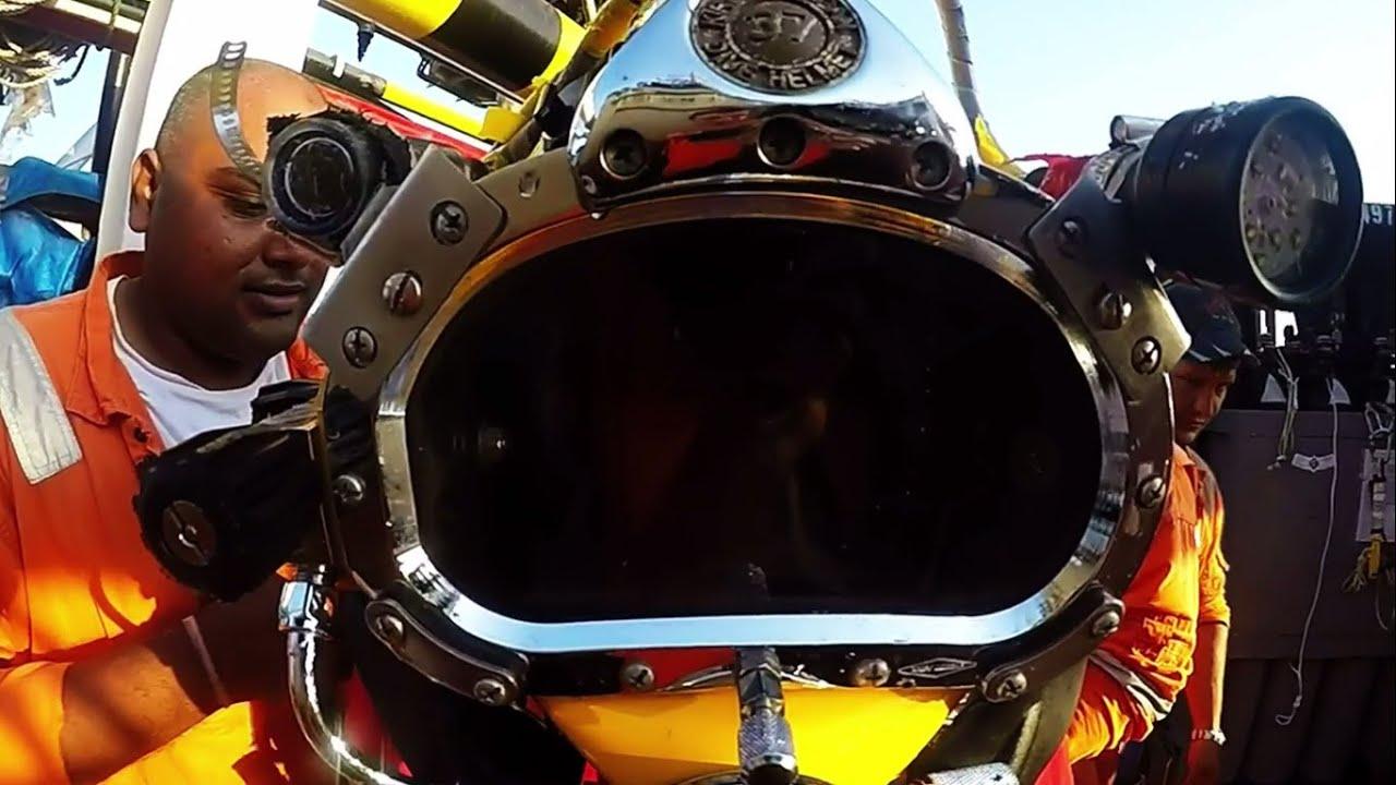 Offshore Commercial Diver : Offshore commercial diver life come with me now kongos