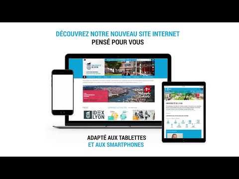Nouveau site web de l'Université de Lyon