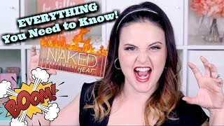 Urban Decay NAKED HEAT! EVERYTHING You NEED to Know Before You BUY! | Jen Luvs Reviews