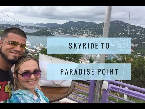 Paradise Point St. Thomas | Carnival Cruise day 4