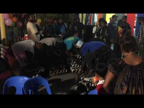 Birthday party entertainment Papua New Guinea style