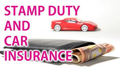 Stamp Duty and Car Insurance