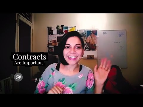 #24 #TheNainaRedhuExperience : Contracts Are Important