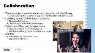 Обучение на основе реальных явлений. Опыт школ в Финляндии