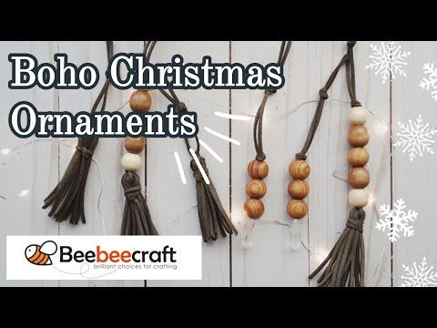Christmas DIY || Boho Ornaments || Beebeecraft || Part 1