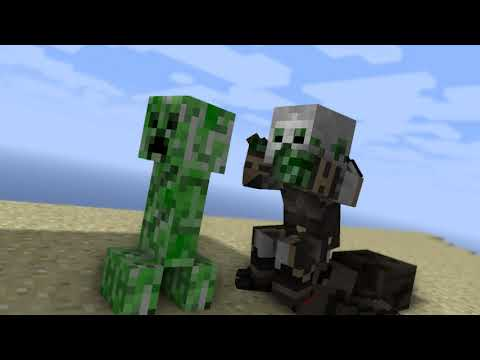 Battle For Island Minecraft Animation