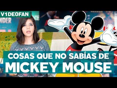 Feliz Cumpleaños 89 Mickey Mouse. Datos Curiosos  - #V1de0Fan con @Susiavur