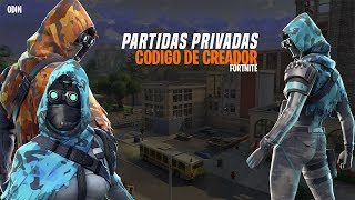 Comment obtenir private Games et Le code créateur à Fortnite Battle Royale