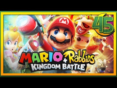 Let's Play Mario & Rabbids Kingdom Battle - The Hot Seat - 45