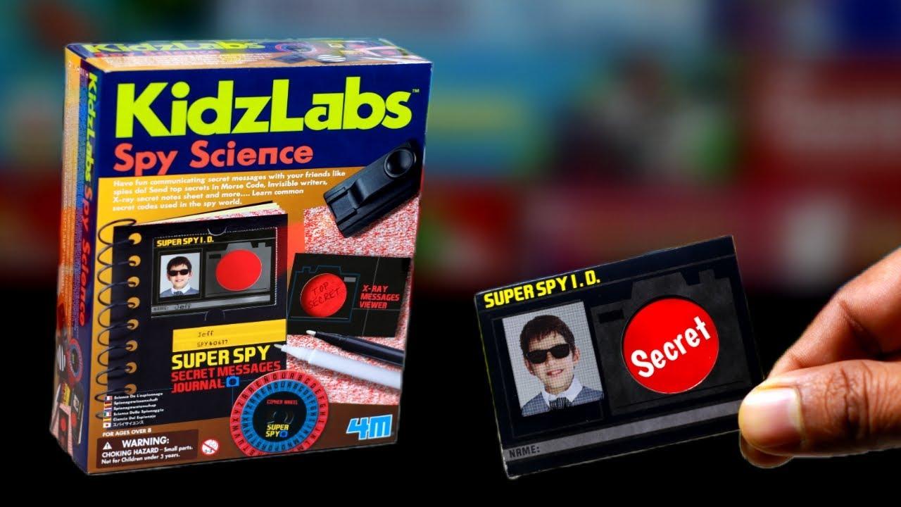 Secret Code Wheels Kit Children/'s Top Secret Spy Message Making Spy Toy