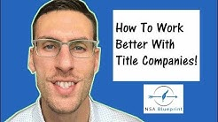 Loan Signing Agent - How to Work Better With Title Companies! [Must SEE]
