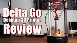 delta go desktop 3d printer review    450 delta 3d printer