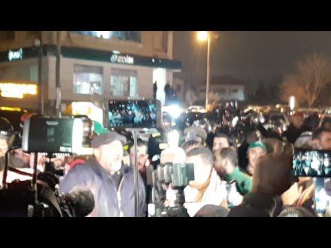 اعتصام جماهيري صد صفقة القرن امام السفاره الامركيه  - نشر قبل 35 دقيقة