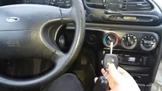 Associer une clée télécommande Ford MONDEO FOCUS FIESTA GALAXY C-MAX