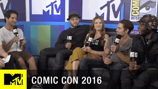 Teen Wolf Casts Loves Their Fans at Comic Con   Comic Con 2016   MTV