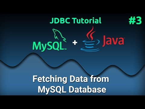 JDBC Tutorial for Beginners #3 : Reading Data from MySQL Database