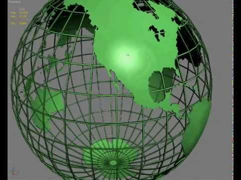 Globe 3d model of the earth planet youtube gumiabroncs Gallery