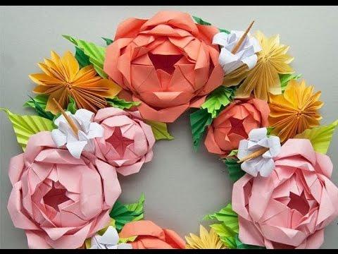 Blumen aus krepppapier basteln. Blumen ideen. - YouTube