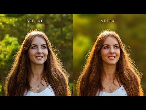 Photoshop Fake Studio Lighting Trick