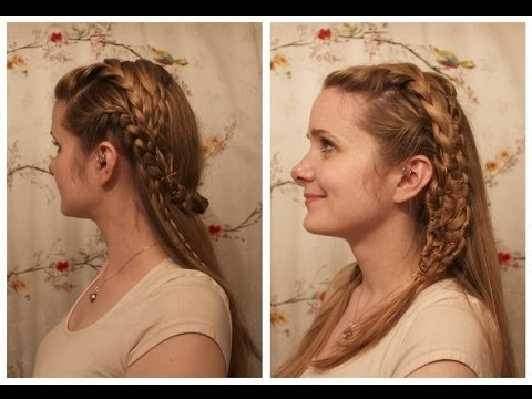 Relativ Vikings: Lagertha Inspired Braids. - YouTube NE69