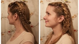 Vikings: Lagertha Inspired Braids.