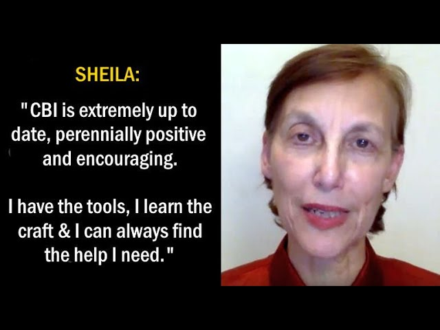 Sheila: CBI Holds Your Hand Every Step of the Way