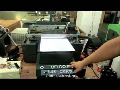 LED UV Printer with White Ink Printing, How to Do Daily Maintenance for Print head
