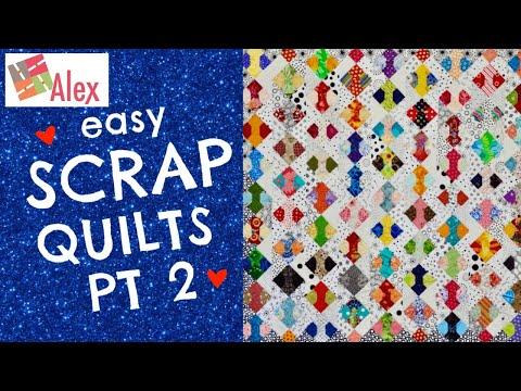 Alex Anderson Quilts: Scrap Quilts II