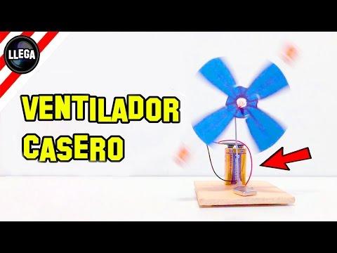 Como Hacer un Ventilador Casero con Motor Eléctrico - Experimentos Caseros - LlegaExperimentos