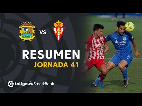 CF Fuenlabrada Gijon Goals And Highlights