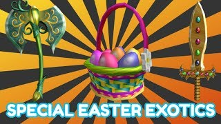 *SPECIAL* EASTER EVENT!! 2 BRAND NEW EXOTICS! [UPDATE] (ROBLOX ASSASSIN)