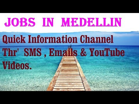 Jobs  in  MEDELLIN    City for freshers & graduates. industries, companies.  COLOMBIA