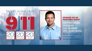 SE291120 Tango Alpha Lima remembers 9/11 with motivational speaker USMC Cpl. Josh Bleill