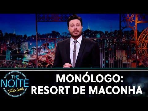 Monólogo: Resort de maconha do Mike Tyson  The Noite 250619