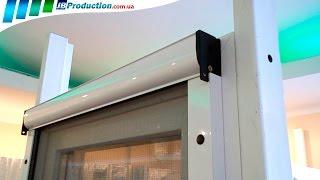 Рулонная москитная сетка на окна от JB Production (роллетная)(В этом видео Рулонная москитная сетка на пластиковые окна показана, как очень практичная в эксплуатации..., 2014-09-21T18:57:17.000Z)