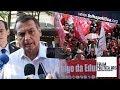 Presidente Bolsonaro 'esfrega verdades' em jornalista do grupo UOL/Folha de São Paulo