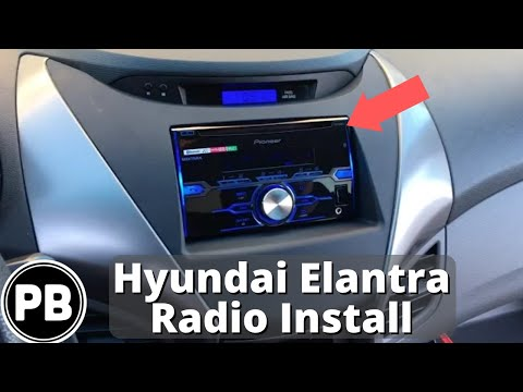 Replacement Of 2010 Hyundai Elantra Stereo Doovi